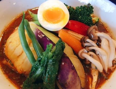 TAMUZO野菜カレー