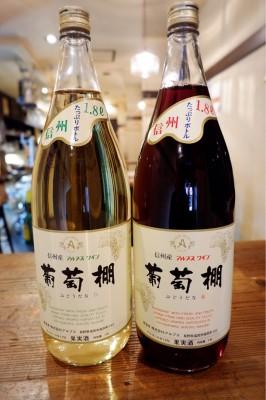 岡野 ワイン 葡萄棚