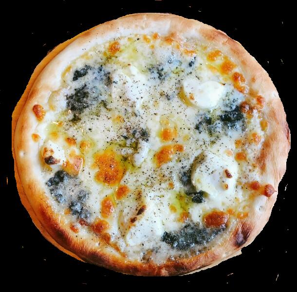 ブルーチーズピザ切り抜き
